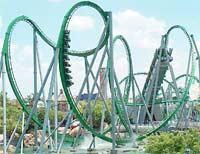 The Hulk - Roller Coaster
