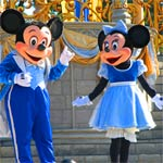 Mickey And Minnie at Magic Kingdom!